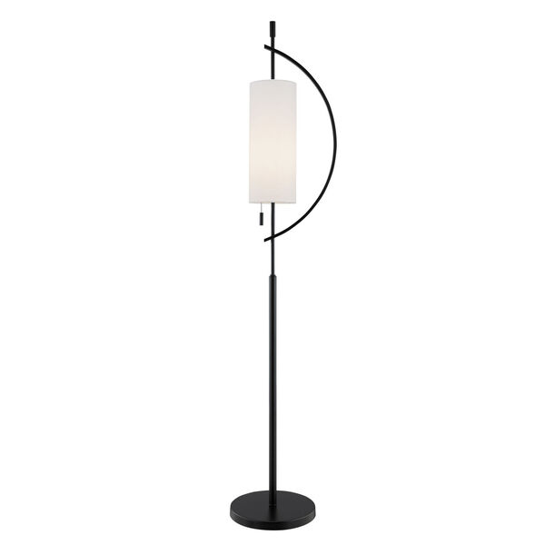 Renessa Black One-Light Floor Lamp, image 1