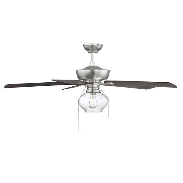 Lex Brushed Nickel LED Ceiling Fan, image 5