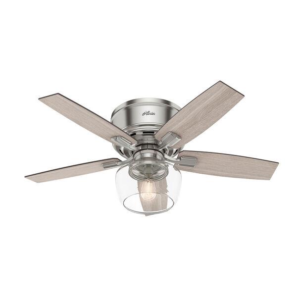 Bennett Brushed Nickel 44-Inch LED Ceiling Fan, image 1