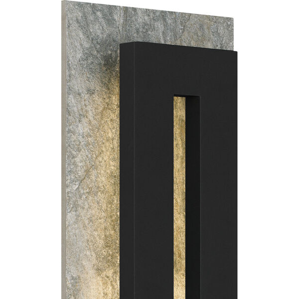 Tate Earth Black 22-Inch LED Outdoor Wall Mount, image 5