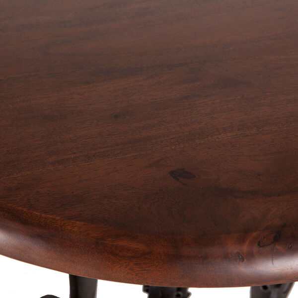 Acacia Small Adjustable Crank Side Table, image 2