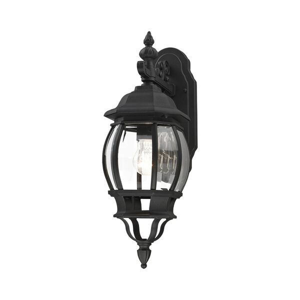 Frontenac Textured Black One-Light Outdoor Wall Sconce, image 4
