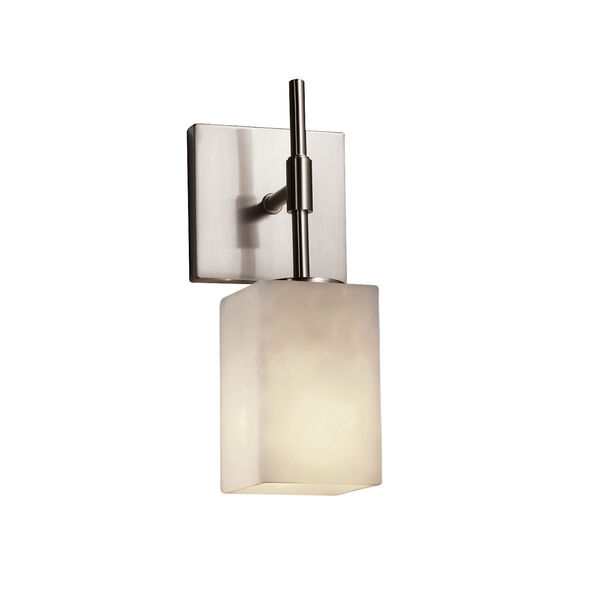 Clouds Union Brushed Nickel LED Wall Sconce, image 1