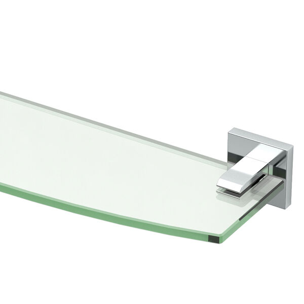 Elevate Chrome Glass Shelf, image 2