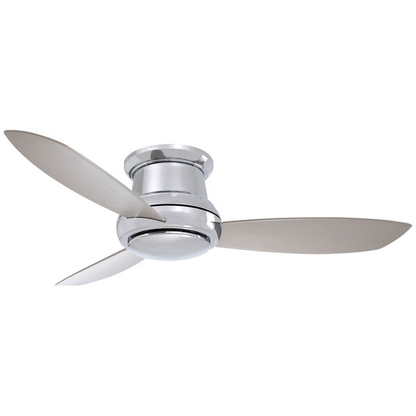 Concept II Polished Nickel 44-Inch LED Ceiling Fan, image 1