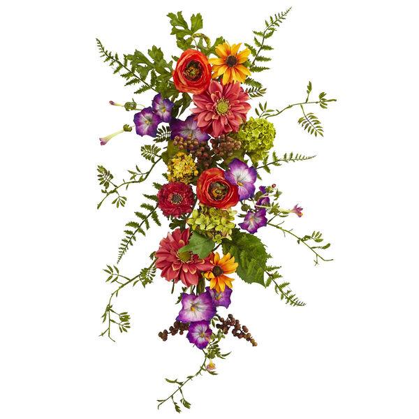 Garden Flower Teardrop, image 1