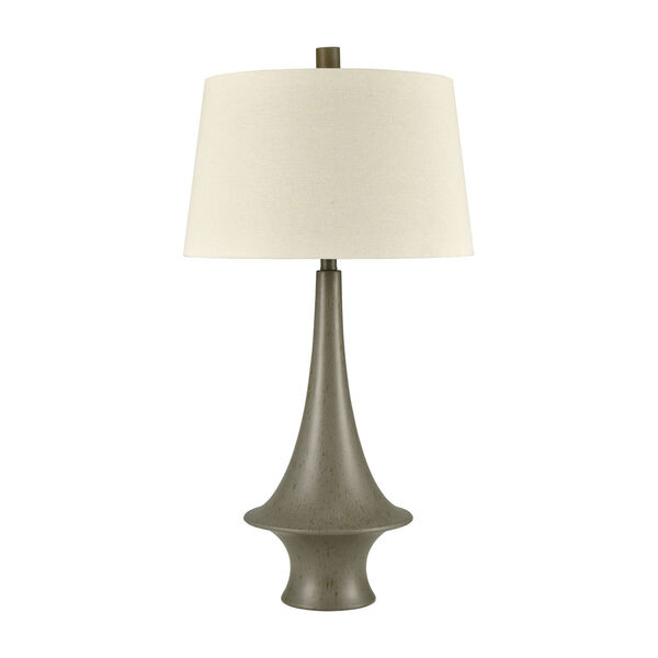 Winchell Gray Polished Concrete One-Light Table Lamp, image 2