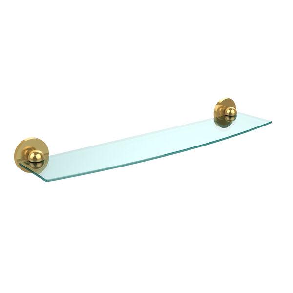 Skyline Polished Brass 24-Inch Single Shelf, image 1