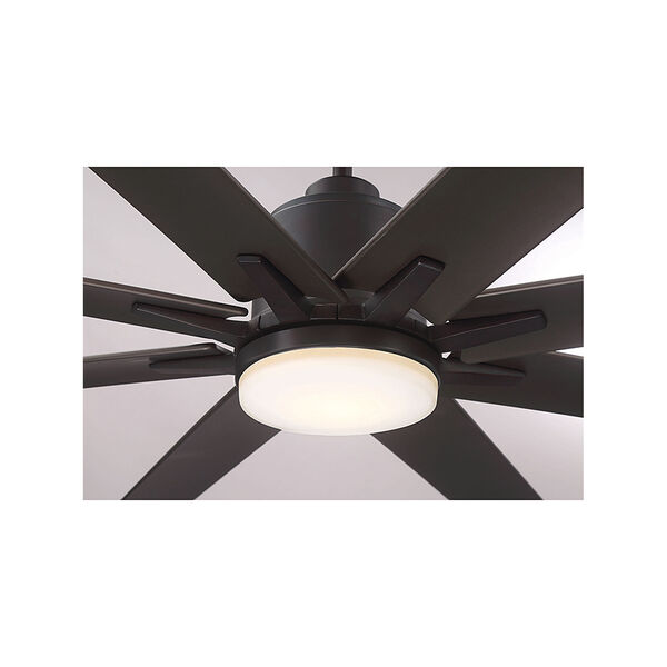 Bluff English bronze LED 72-Inch Outdoor Ceiling Fan, image 6