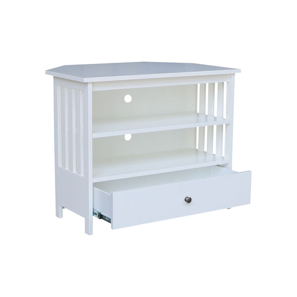 White 35-Inch TV Stand, image 4