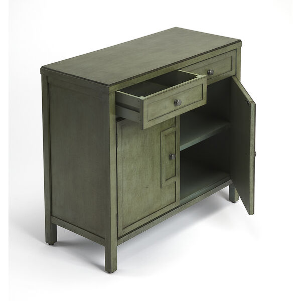 Butler Imperial Green Console Cabinet, image 2