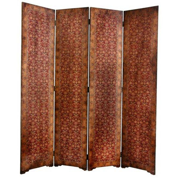Six Ft. Tall Olde - Worlde Rococo Room Divider, Width - 63 Inches, image 1