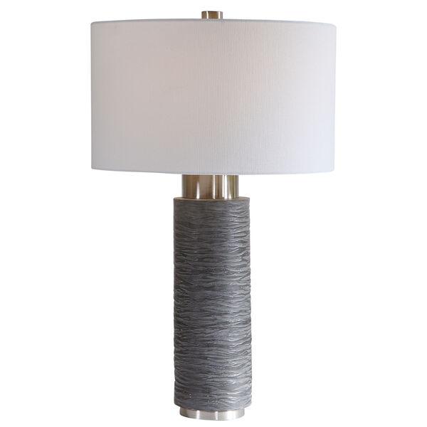 Strathmore Brushed Nickel Table Lamp, image 1