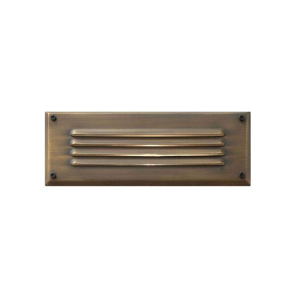 Hardy Island Matte Bronze 9-Inch LED Deck Light, image 1
