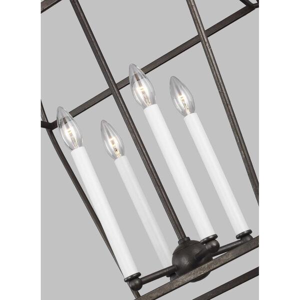 Stonington Smith Steel 18-Inch Four-Light Chandelier, image 2