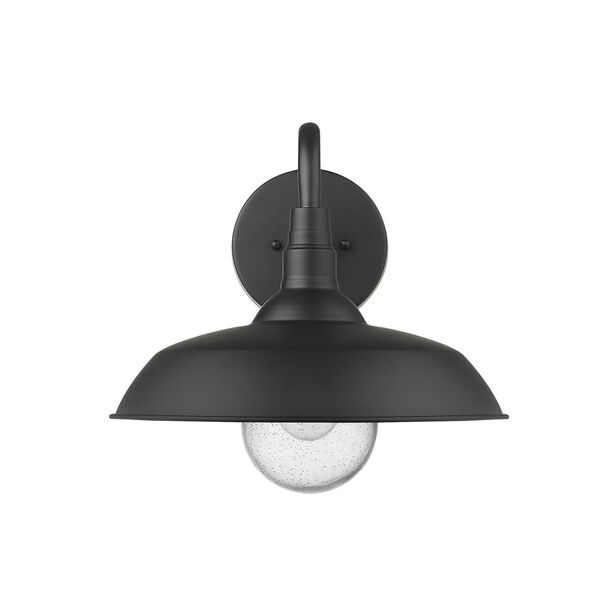 Burry Matte Black 14-Inch One-Light Outdoor Wall Sconce, image 4