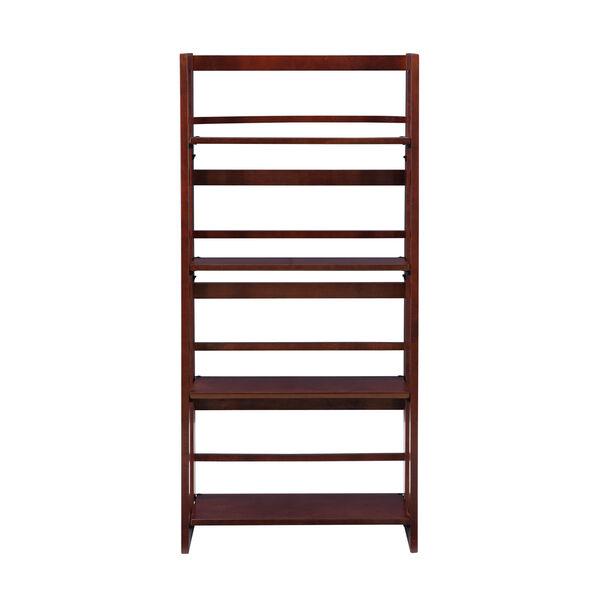 Olivia Walnut Folding Bookcase, image 2