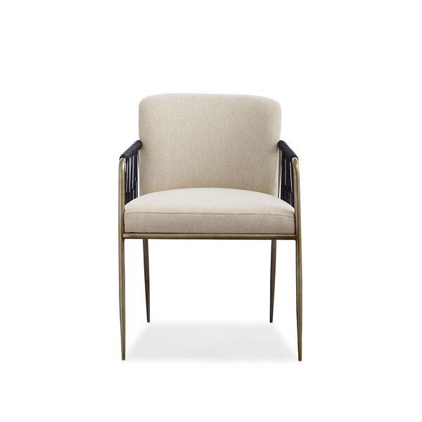 Modern Artisan Remix Beige Arm Chair, image 6