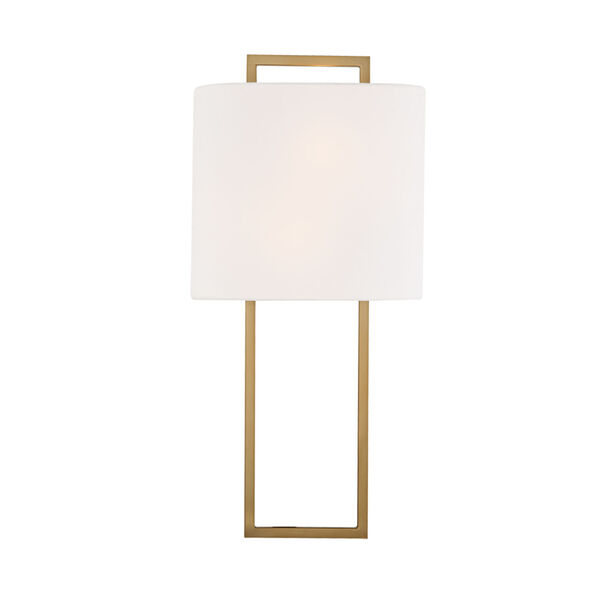 Fremont Vibrant Gold Two-Light Wall Sconce, image 1