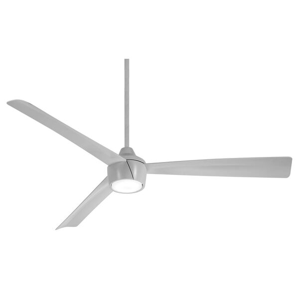 Skinnie Gray 56-Inch LED Outdoor Ceiling Fan, image 1