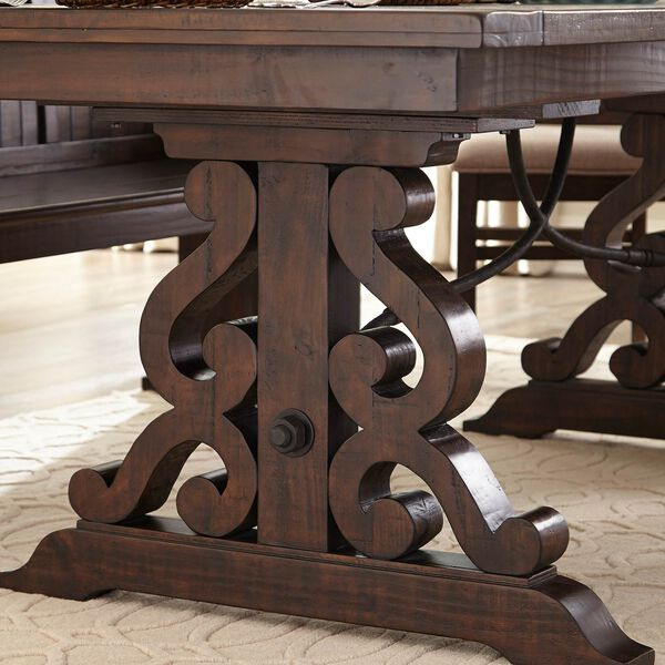 St. Claire Rectangular Dining Table in Rustic Pine, image 3