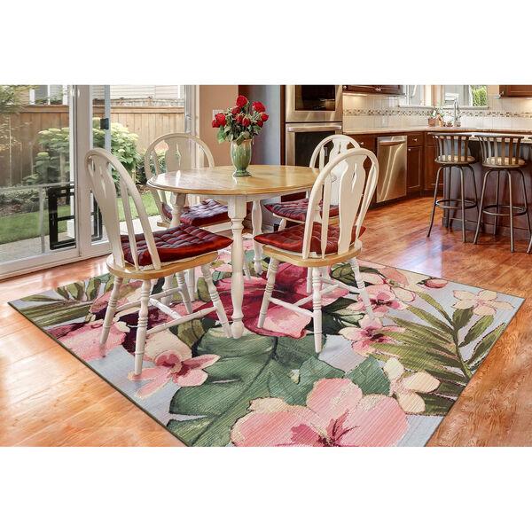 Marina Tropical Floral Indoor/Outdoor Rug, image 3
