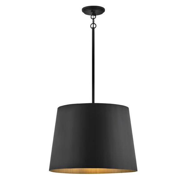 Alder Black One-Light Outdoor Pendant, image 1