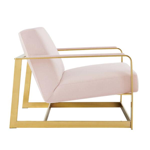 Monroe Performance Velvet Accent Chair, image 3