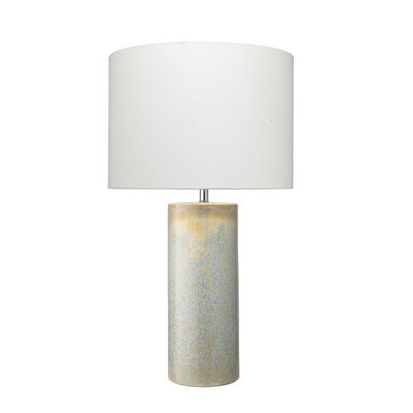 Easton Seafoam and Cream Reactive Glaze One-Light Table Lamp, image 1