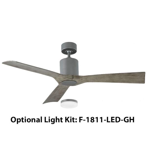 Aviator Graphite 54-Inch 3000K LED Downrod Ceiling Fans, image 2
