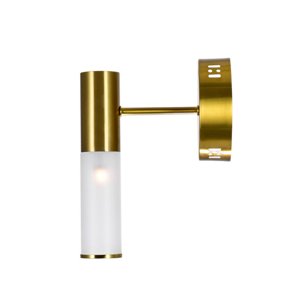 Pipes Brass LED Wall Sconce, image 4