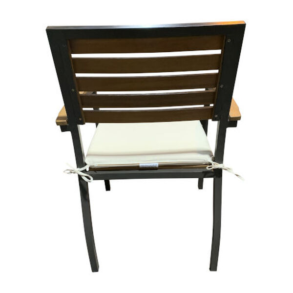 Boca Grande Outdoor Dining Arm Chair, Set of Two, image 4
