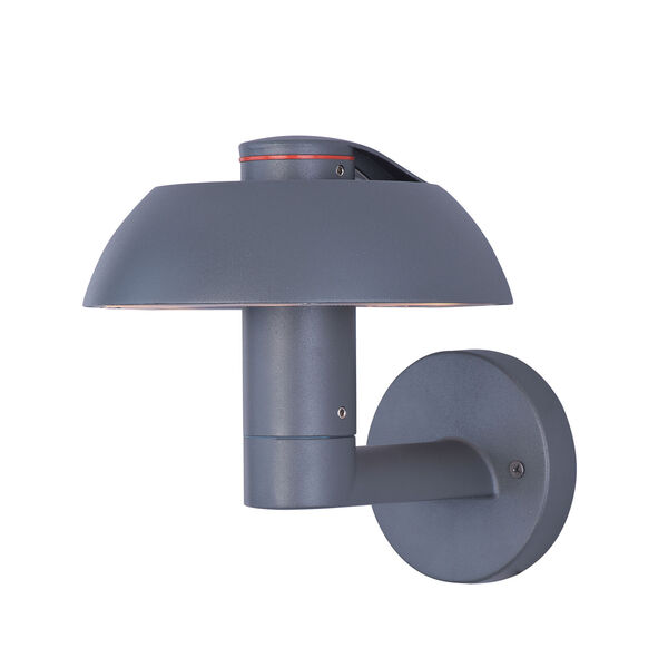 Alumilux DC Dark Grey Six-Light LED 8-Inch Outdoor Wall Sconce, image 1