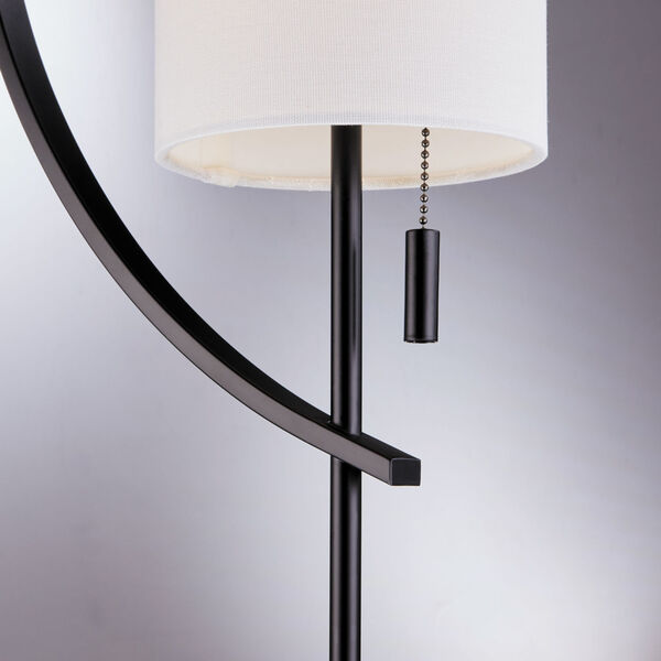 Renessa Black One-Light Floor Lamp, image 4