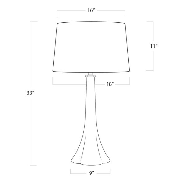 Nona Natural One-Light Table Lamp, image 5