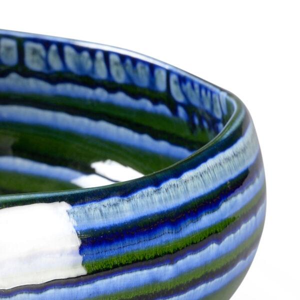 Blue 16-Inch Decorative Bowl, image 2