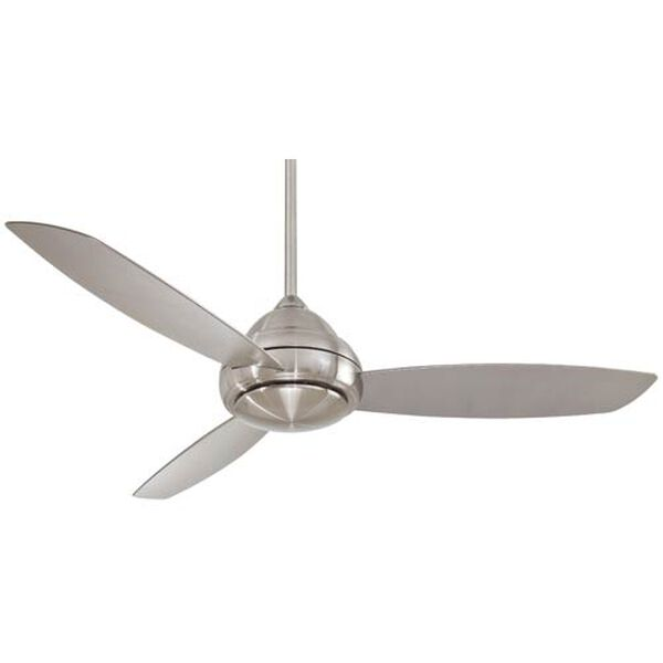 Concept I Brushed Nickel 58-Inch Outdoor LED Ceiling Fan, image 1