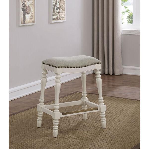 Hampton Saddle Seat Counter Stool, image 1