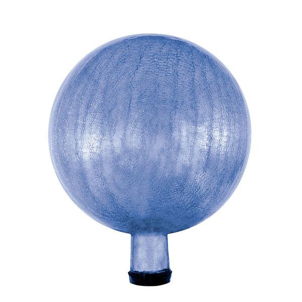 10 Inch Gazing Globe, Blue Lapis, Crackle, image 1