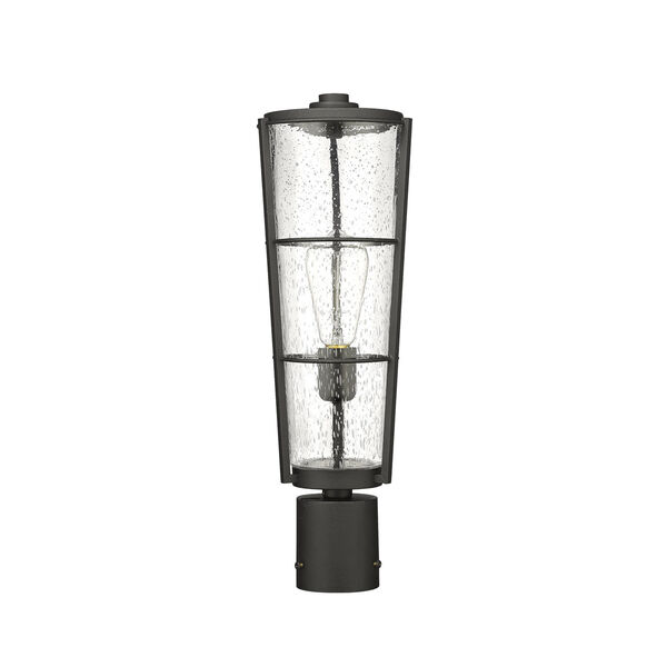 Helix Black 20-Inch One-Light Outdoor Post Mount, image 5