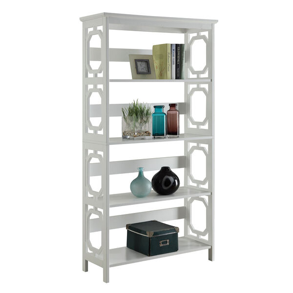 Omega 5 Tier Bookcase, image 2
