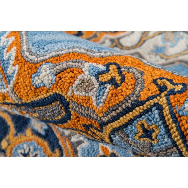 Ibiza Medallion Blue Rectangular: 3 Ft. x 5 Ft. Rug, image 5