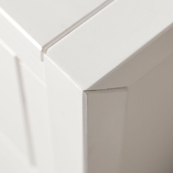 Lydia White Dresser with Six Drawer, image 2