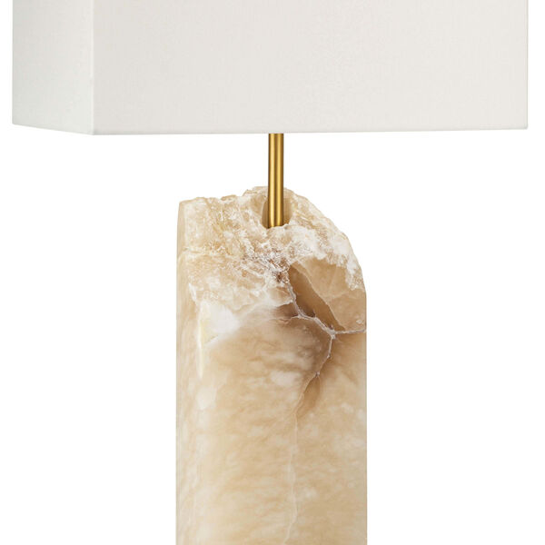 Selina Natural Stone One-Light Table Lamp, image 2