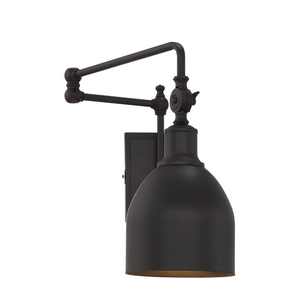 River Station Oil Rubbed Bronze One-Light Wall Sconce, image 1