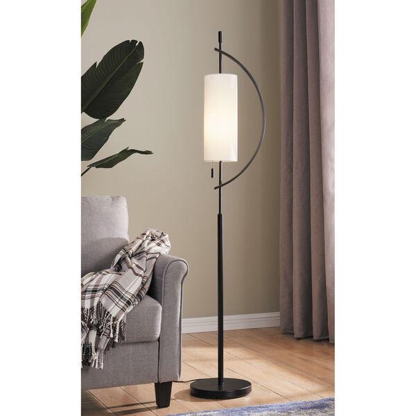 Renessa Black One-Light Floor Lamp, image 2