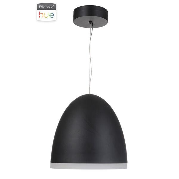 Studio Flat Black 16-Inch LED Pendant, image 2