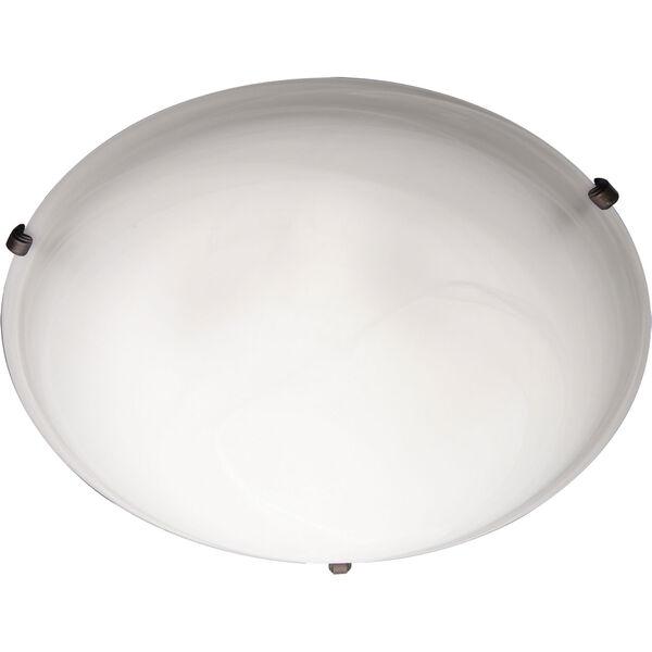 Newport Bronze Flush Mount Ceiling Light , image 1