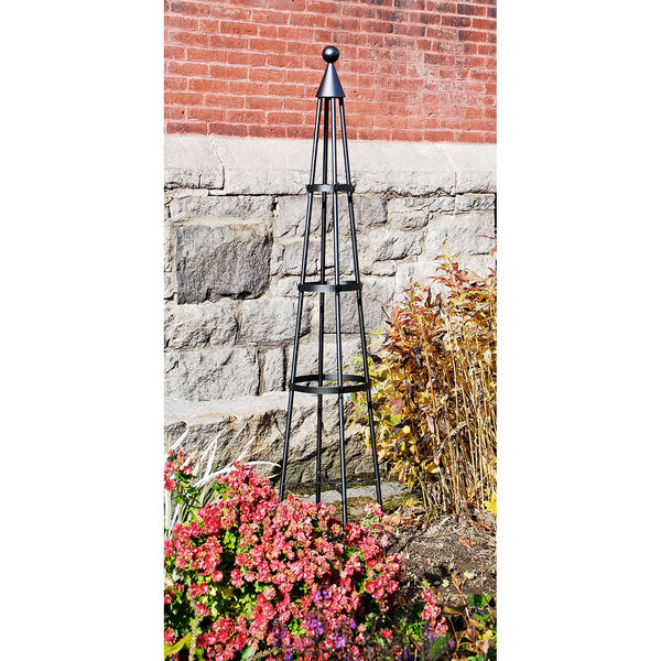 Wrought Iron Obelisk I, image 1