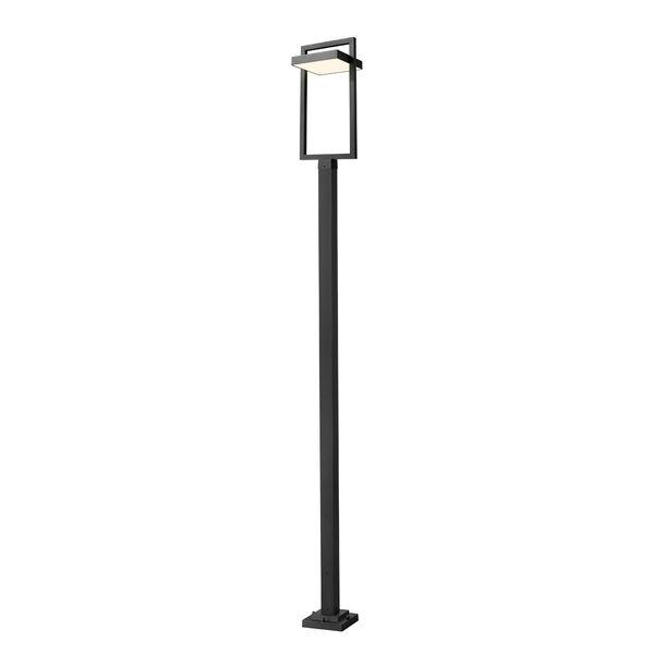 Luttrel Black 123-Inch One-Light LED Outdoor Post Mount, image 1